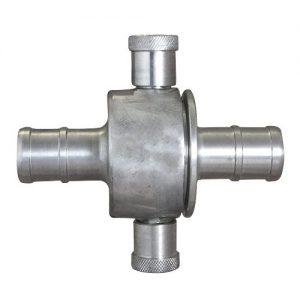 couplings aluminium and brass