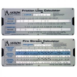 Akron friction loss calculator