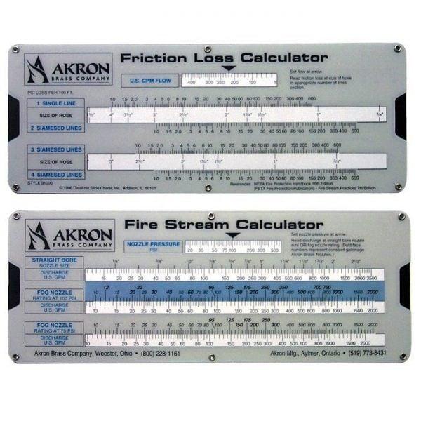 calculator – Fire Response
