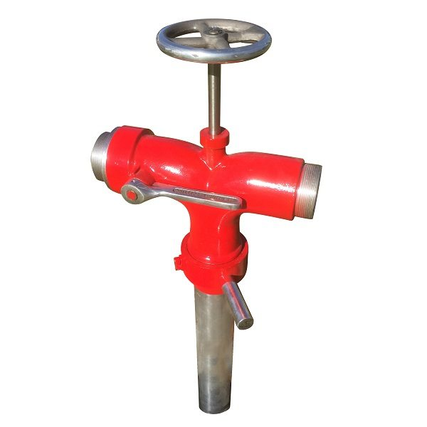 Unmetered Standpipe - Double Controlled Head