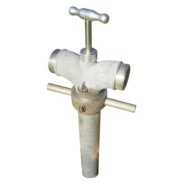 Unmetered Standpipe - Double Head
