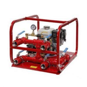 4 outlet fire hose tester