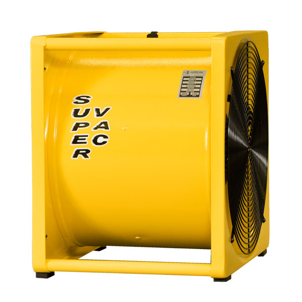 Supervac HF164 Electric High Speed Smoke Ejector