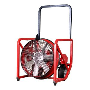 The 718WT water turbine PPV (18 inch) is set on the classic 7-Series frame. A perfect combination of size and power for departments looking for an every day PPV fan that is not dependent on electricity and can be used in hazardous locations.