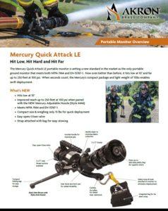 Mercury Quick Attack Portable Monitor