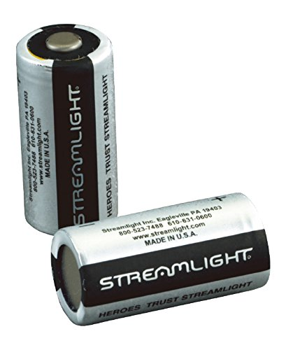 Streamlight CR123A Lithium battery