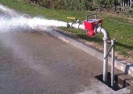 Flowmeter running
