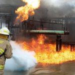 class b fluorine free fire foam