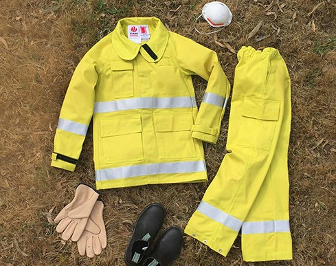 fire fighting ensemble