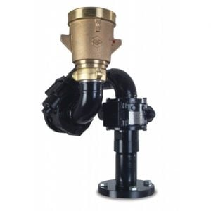 hydraulic severe duty water cannon