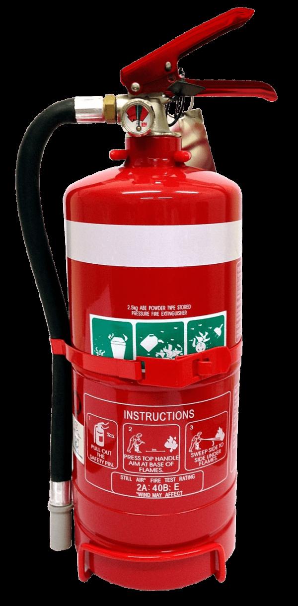 Extinguisher ABE Dry Powder 2.5kg