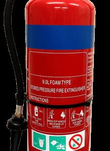 Extinguisher Fluorine Free Foam