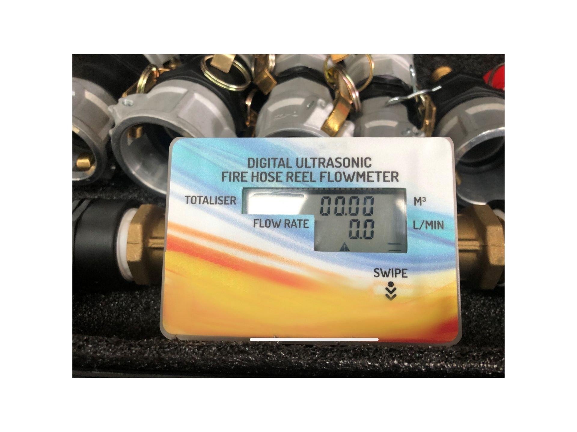 Fire Hose reel flow meter
