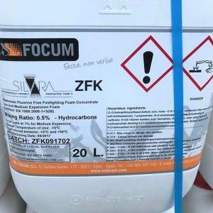 Silvara ZFK Fluorine Free Foam 0.5%