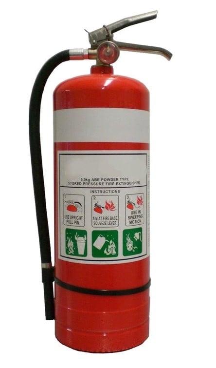 fire extinguisher ABE