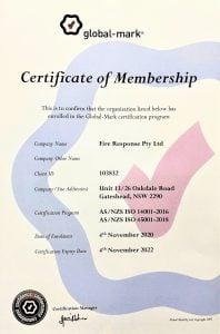 global-mark certificate