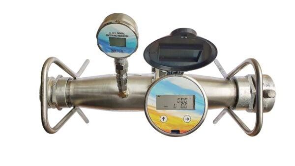 ultrasonic fire hydrant flowmeter