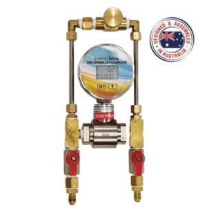 Sprinkler flowmeter